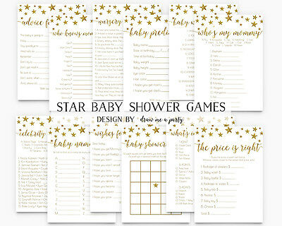 Twinkle Twinkle Little Star Baby Shower Game