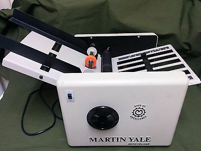Martin Yale Auto Folder Paper Folder Folding Machine Automatic