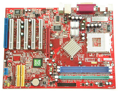 CARTE MERE MSI MS K7N2 athlon xp 2400+ 1 go de ram + ventilateur