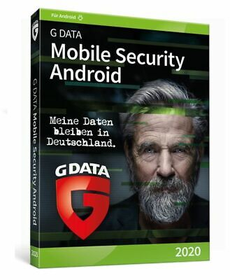 G Data Mobile Internet Security 2018 für 1 ANDROID 1 Jahr Gdata