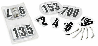 Shires Competition Bridle Number Kit 2 X Holders and Numbers (8082N)