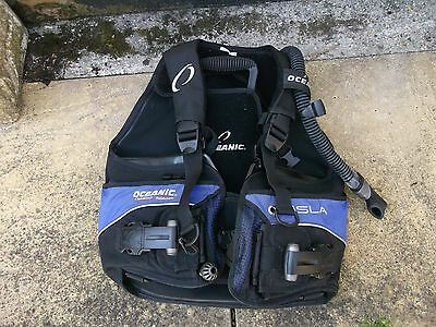 OCEANIC WOMENS BCD OCEANPRO FX size M fits 8/10 hardly used EXCELLENT CONDTION