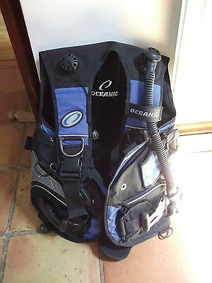MENS OCEANIC BCD OCEANPRO FX  hardly used SIZE  M/L FITS XL EXCELLENT CONDITION