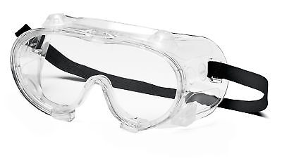 Pyramex Vented Chemical Safety Goggles with Clear Lens