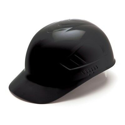 Pyramex Bump Cap Black HDPE with 4 Point Suspension
