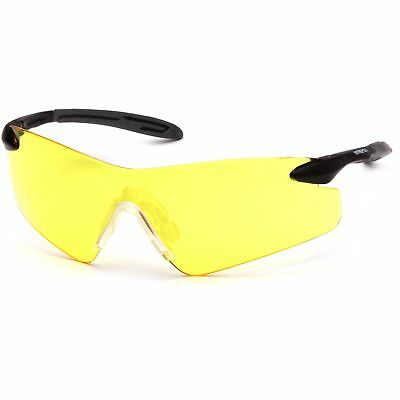 12 PAIR SAFETY GLASSES PYRAMEX INTREPID CLEAR LENS ANSI UV PROTECTION PYSB8810S