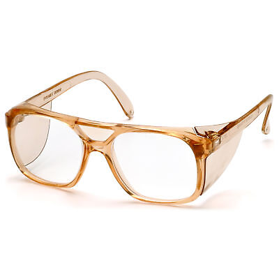 Pyramex Monitor Safety Glasses with Clear Lens and Side Shields