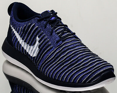 116c36cc69df Nike Roshe Two Flyknit 2 men lifestyle sneakers NEW college navy 844833-402
