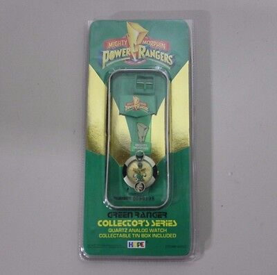 Mighty Morphin Power Rangers Green Ranger Collector's Series Quartz Analog Watch