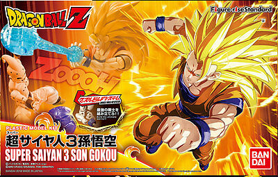 Dragon Ball Z Goku Gokou Ss3 Figure Rise Figura Nuevo New