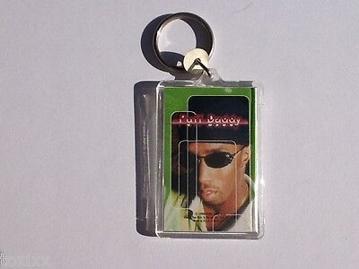 New - PUFF DADDY DIDDY P. DITTY SEAN COMBS LUCITE KEYCHAIN - NEW - E1
