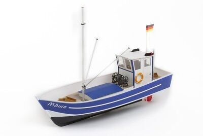 Mowe 2 North Sea Fishing Boat Cutter - 1:25 Scale Aero-Naut Wooden Kit