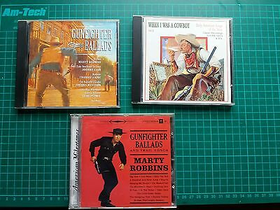 cowboy gunfighter cd's x 3