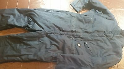 Men's Walls Blizzard Pruf Insulated Coveralls Size 2XL Reg XXL Blue