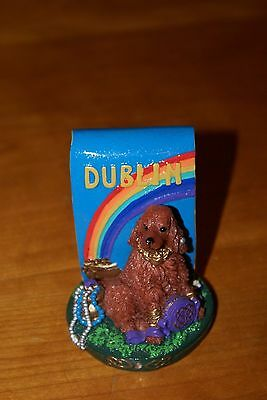 Irish Setter-Dublin-Resin Figurine-Icing 2002 by Claire's-Excellent
