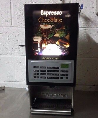 Scanomat Pro 4 Compact Automatic Coffee And Hot Drinks Machine