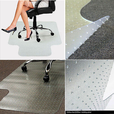 48 X 36 Pvc Home Office Floor Chair Mat Studded With Lip 2mm Thick