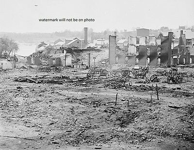"Ruins of Tredegar Iron Works Richmond Virginia 8""x10"" Civil War Photo Picture 84"