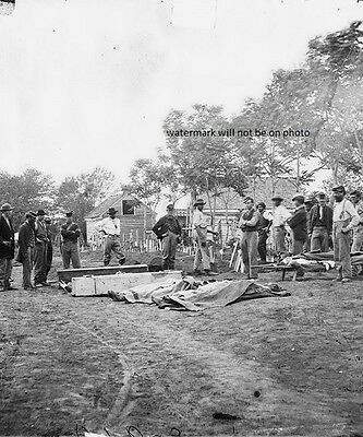 "Burial of Soldiers - Fredericksburg, VA 8""x 10"" Civil War Photo Picture #69"
