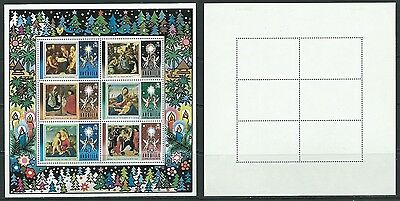 Stamps Anguilla Sg Ms 173 Christmas 1973 Mm