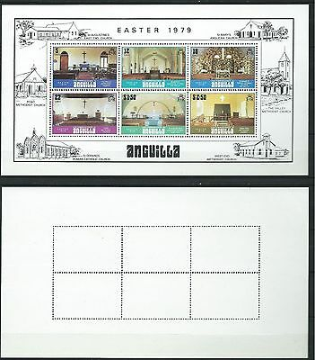 Stamps Anguilla Sg Ms 357 Easter 1979 Mnh