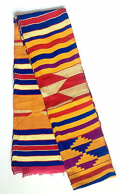 Traditional Woven Kente Scarf