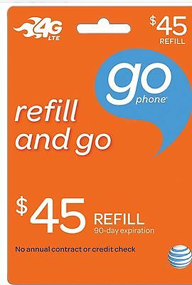 $45 AT&T Monthly Payment Fastest refill Applied Direct WE R HERE 7 DAYS