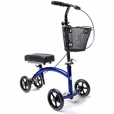 Deluxe Steerable Crutches Knee Walker Knee Scooter  Leg Walker Crutch AD01