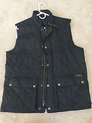 Ralph Lauren Polo Diamond Quilted Vest Men's Medium Retail $225 NWOT