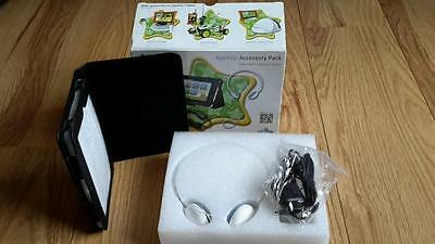 "APPSTAR 7"" TABLET ACCESSORY PACK - Faux Leather Case, Headphones & Car Charger"