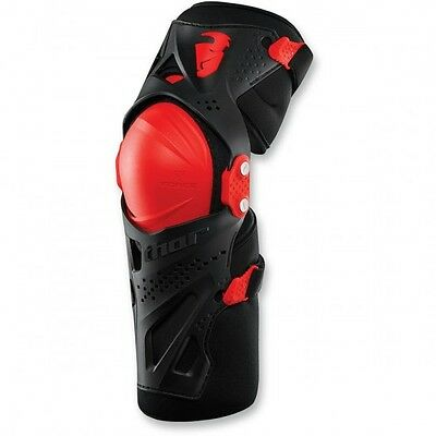 Youth force xp knee guard red one size - 2704-0432 - Thor 27040432