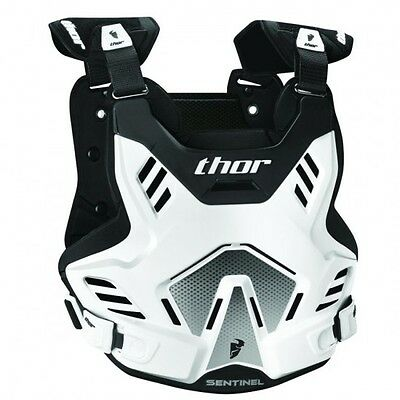 Youth sentinel gp s16y roost deflector white/black 8-12 years... - Thor 27010759