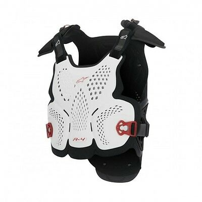 A-4 off road chest protector m/l white/black/red - 67... - Alpinestars  27010778