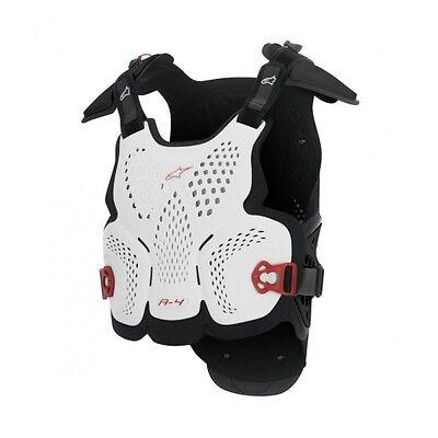 A-4 off road chest protector xl/2xl white/black/red -... - Alpinestars  27010779
