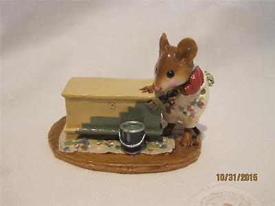 Wee Forest Folk Brushing Up Original Color - Retired - New in WFF Box