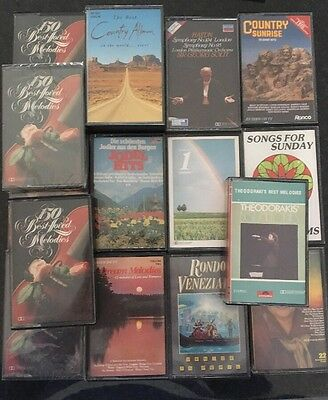 Job lot Music Cassettes County / Melodies
