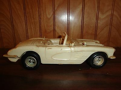 mpc '60-'62 Corvette Slicks Drag Car 1/25 Built 70's Model Restore AMT 3 in 1 ?