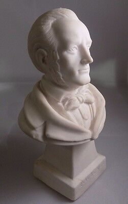 Impossible To Find Vintage 5.5 Inch Bust Of Composer Richard Wagner Statuette