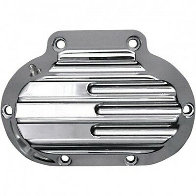 Trans side cover, hydraulic, finned, chrome - c1362-c - Covingtons 11050171