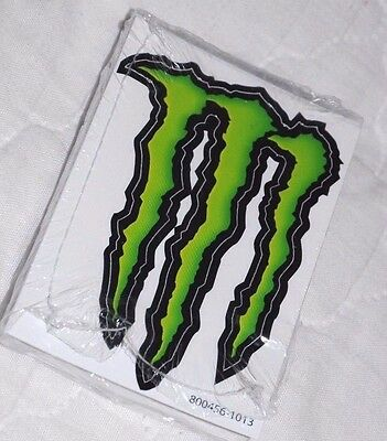 """25 Monster Energy Green 'M'Stickers 4"""""""