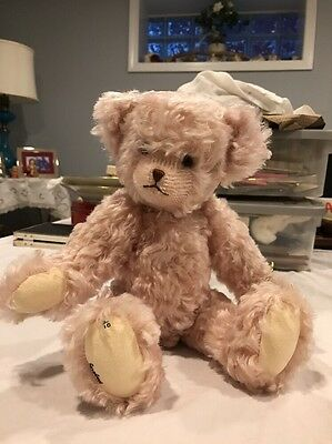 """Annie "" Collectible Bear -Belle Hagerty  of BJ's Bears-No.3/10 Rare!"