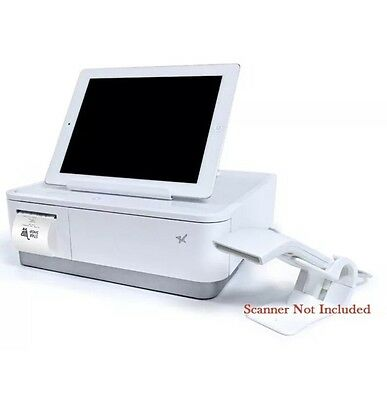 Star mPOP Tablet Stand, CASH Drawer and Printer WHITE 39650010