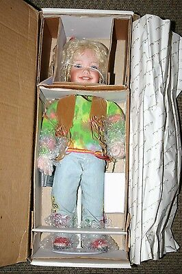 """Harmony """"Hippie"""" Doll by Nancy Leslie - Never Removed From Box Brand New"""