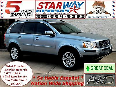 2011 Volvo XC90 AWD 2011 volvo xc90 AWD 3.2L - CLEAN - ONE TEXAS OWNER - 3rd SEAT - CLEAN