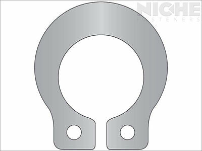 Grip Retaining Ring External 1/4 Stainless Steel (25 Pieces)