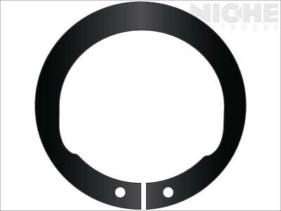 Snap Retaining Ring Inverted External 1-9/16 Steel Phos (75 Pieces)