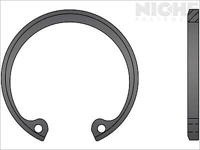 Housing Retaining Ring Beveled Internal 6 Spring Steel PH (2 Pieces)