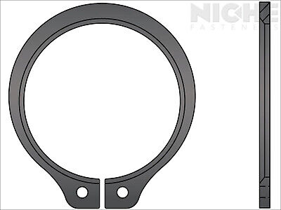 Snap Retaining Ring Beveled External 1-7/8 Spring Steel Phos (2 Pieces)