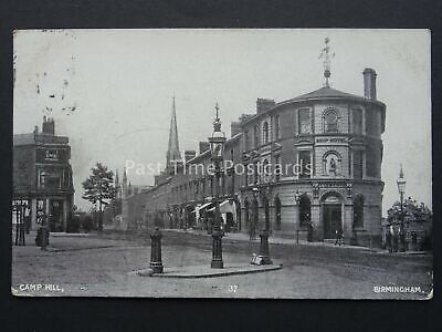 Birmingham CAMP HILL & THE SHIP HOTEL c1908 Postcard by Fred Jones & Sons