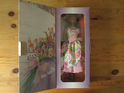 Barbie Avon Special edition Spring Petals Barbie Gatefold box
